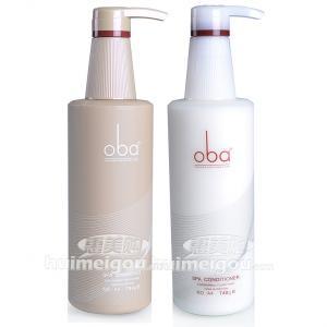 二代oba歐芭燙染洗發乳霜+護發乳霜740g套裝歐巴A3A4 洗護套裝